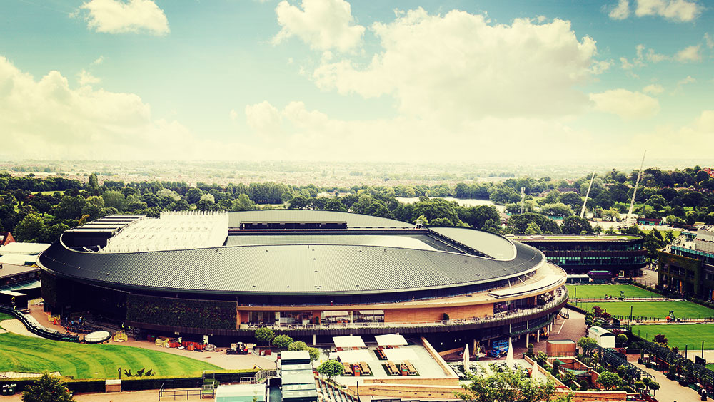 Sports | Tennis, Wimbledon, The Championships, All England Lawn Tennis and Croquet Club, London, UK