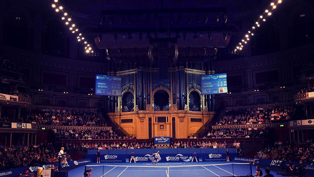 Sports   Tennis, myWorld Champions, Royal Albert Hall, London, UK