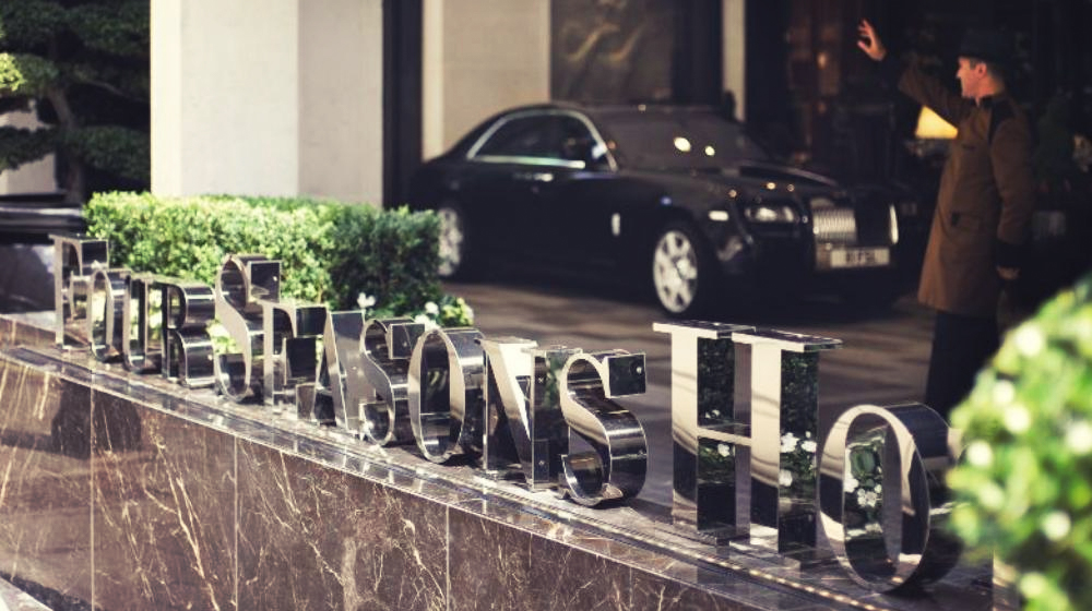 London Guide, Where to Stay, Four Seasons, Park Lane