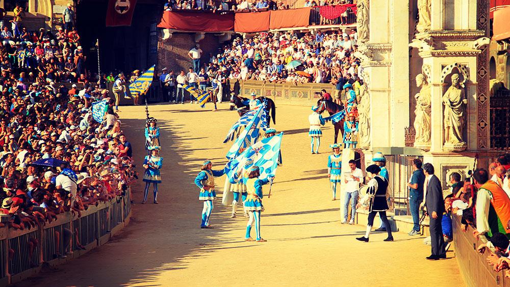 Sports | Equestrian, Palio di Provenzano (Palio di Siena), July, Siena, Italy