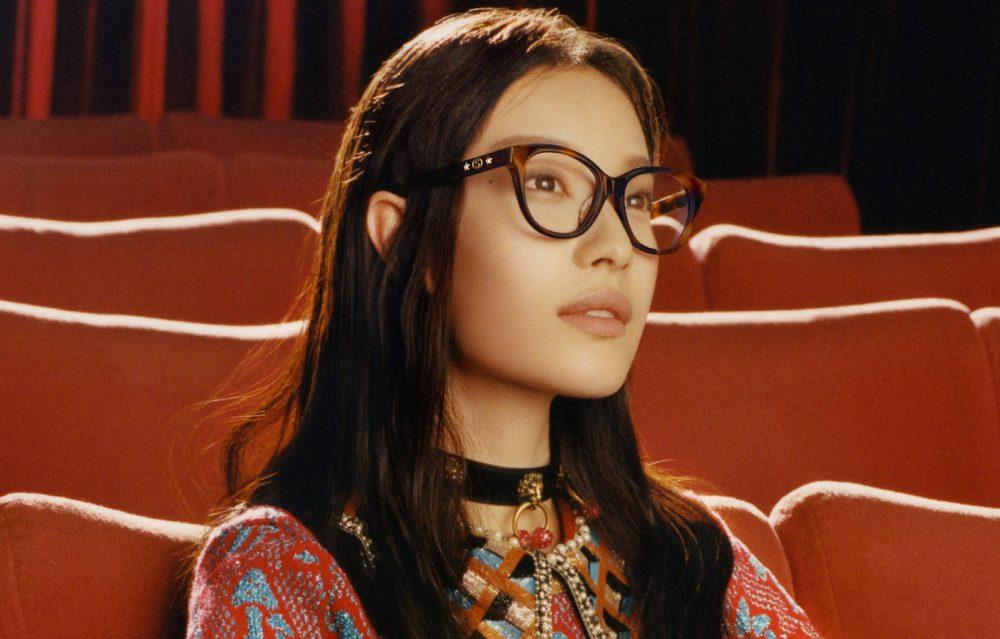 Ni Ni stars in the new Eyewear Campaign for Fall Winter 2017
