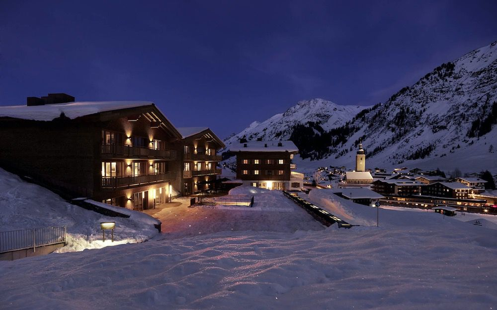 Aurelio Lech offers a touch of Austrian luxury in a fabulous ski in, ski out location