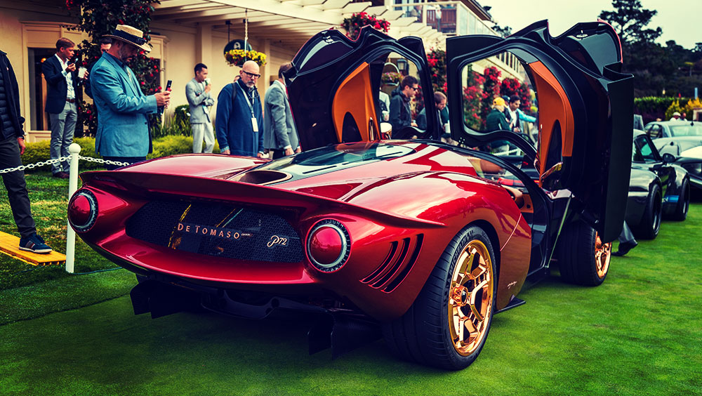 Exhibitions | Motor Show, Pebble Beach Concours d'Elegance, August, Pebble Beach, California, USA