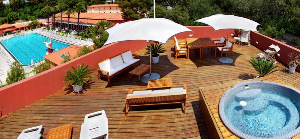 French Riviera retreat, Monte-Carlo Beach hotel, Monaco
