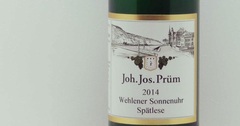 Wine   Weingut Joh. Jos. Prüm, Wine Producer, Bernkastel-Wehlen, Mosel, Germany