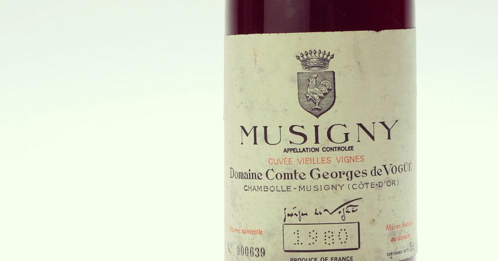 Wine | Domaine Comte Georges de Vogue, Wine Producer, Côte de Nuits, Burgundy, France