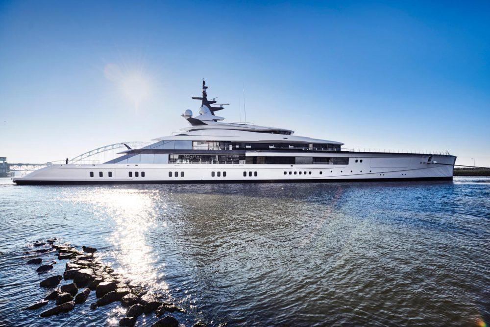 "Oceanco's stunning 109m/357ft Yacht ""Project Bravo"""