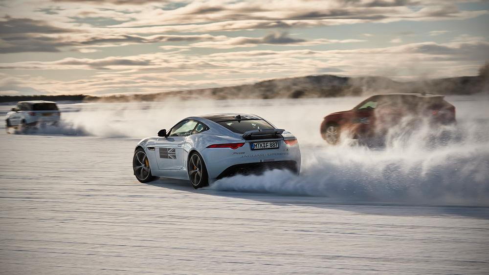 Luxury Experiences | Jaguar Land Rover's Adventure Travel Ice Academy, Motor Adventure