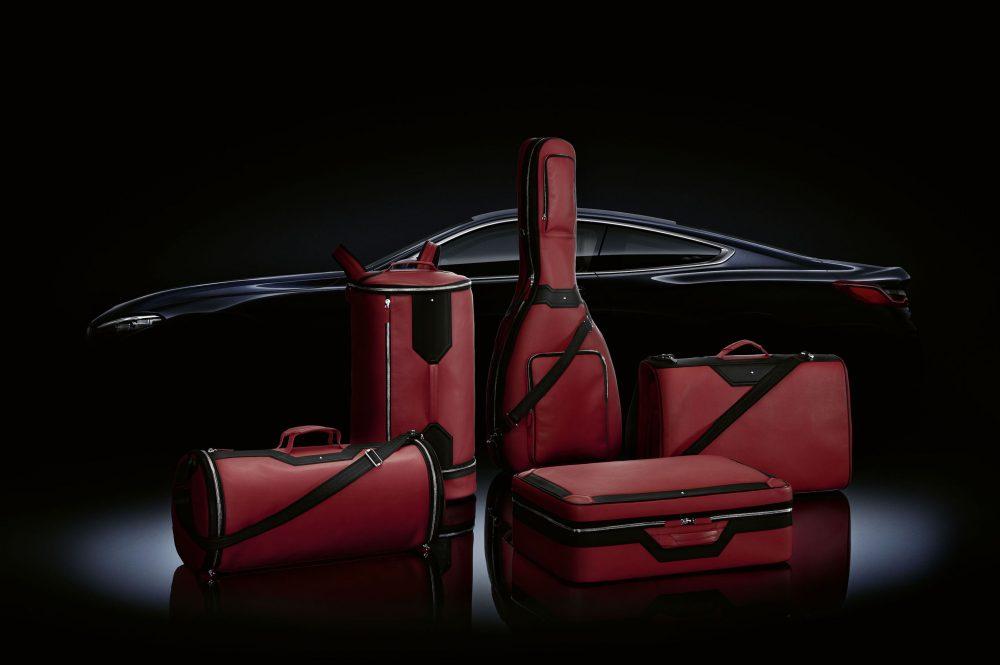 Montblanc & BMW Unveil Luggage Set for BMW 8 Series Coupé