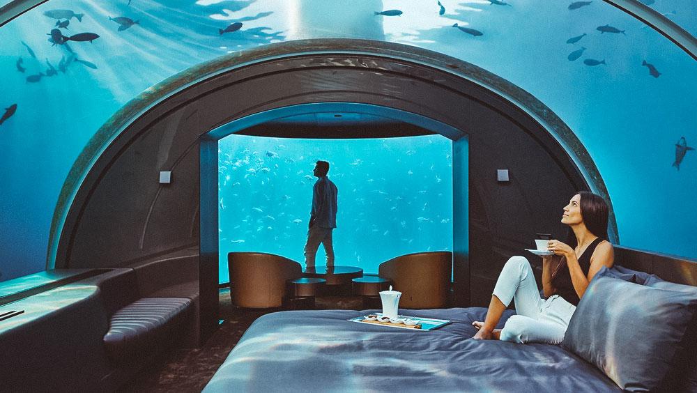 Luxury Experiences | The Muraka, World's first underwater villa, Conrad Maldives Rangali