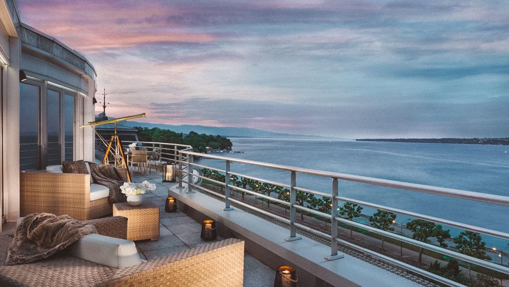 Luxury Experiences   Royal Penthouse Suite, President Wilson, Geneva