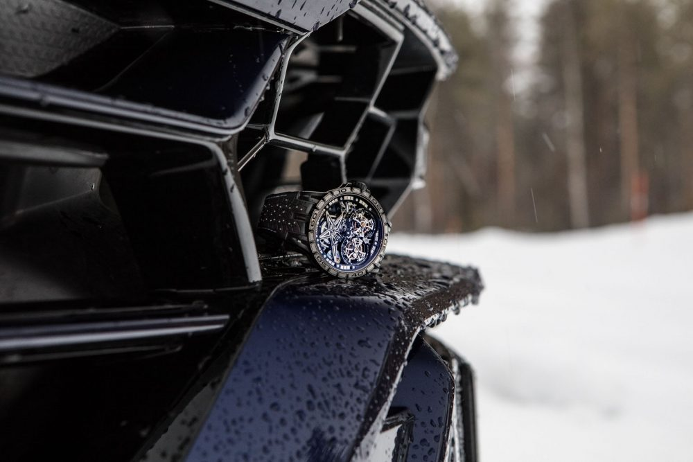 Excalibur Pirelli Ice Zero II by Roger Dubuis: Sizzling start for an ice-cool launch