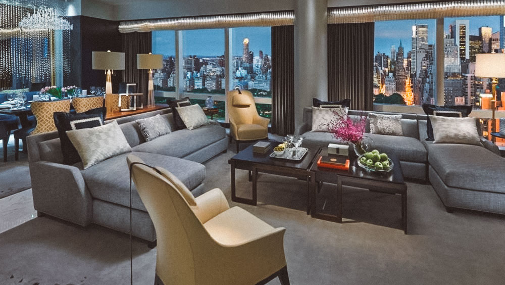 Luxury Experiences | Suite 5000, Mandarin Oriental, New York