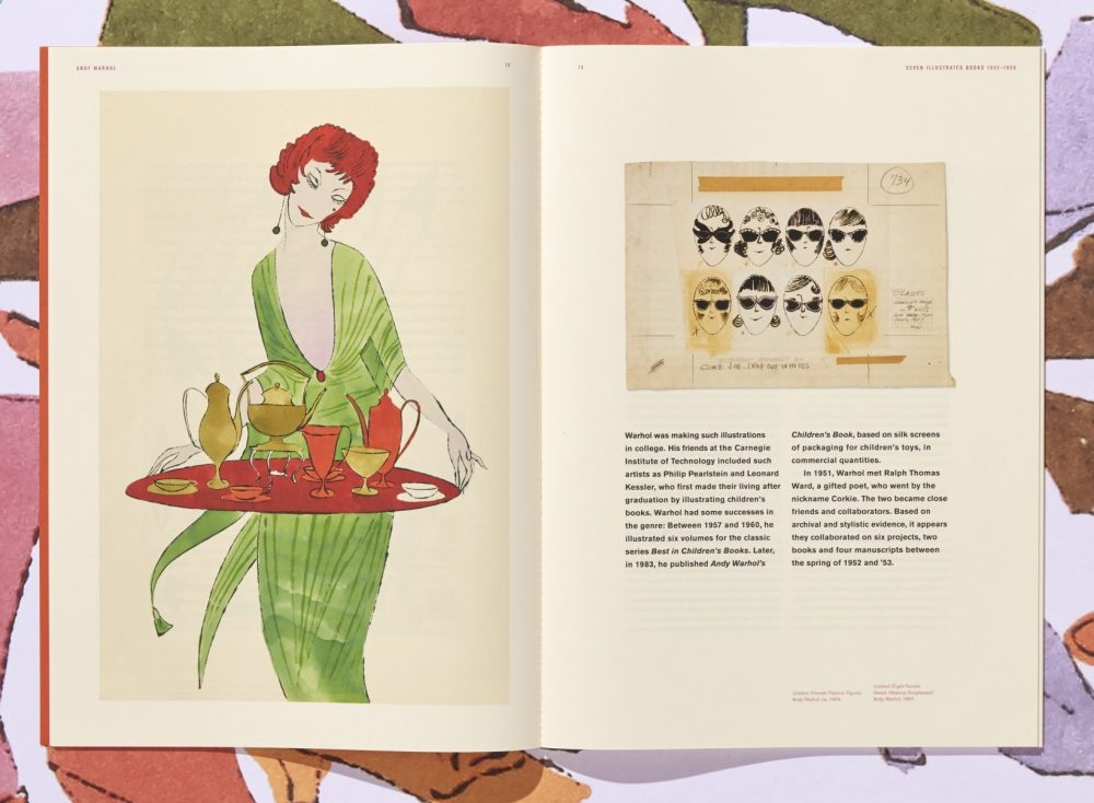 Andy's Magnificent Seven, A unique reissue of Warhol's classic 1950s illustrated books