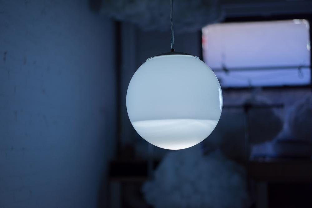 A harmoniouscontradiction: The Rain Lamp by Richard Clarkson Studio