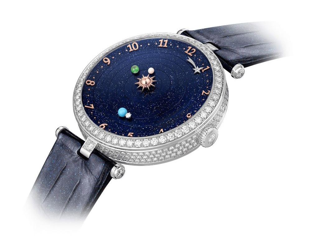 Lady Arpels Planétarium watch by Van Cleef & Arpels