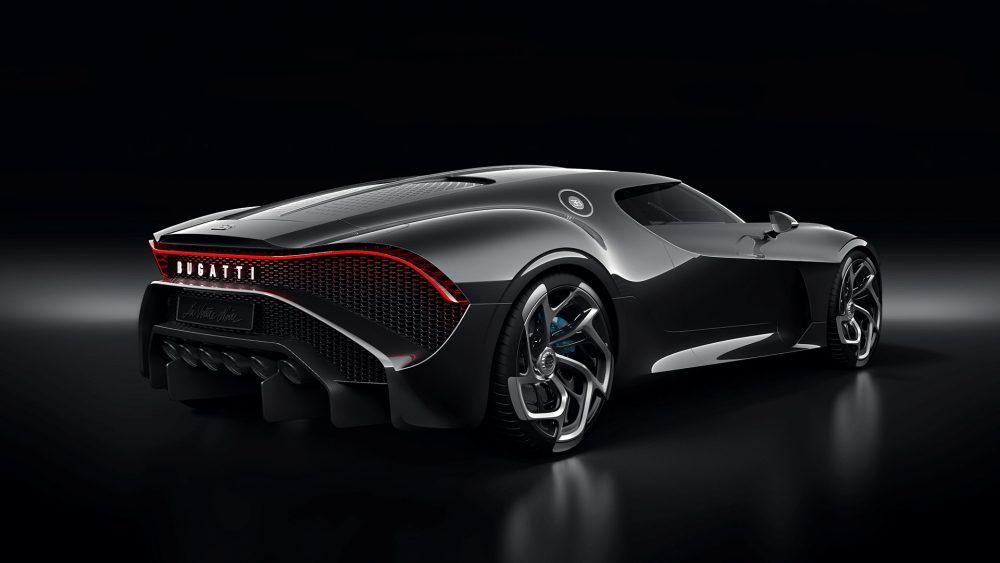 """Bugatti """"la Voiture Noire"""" — A One-off Car For The Anniversary"""