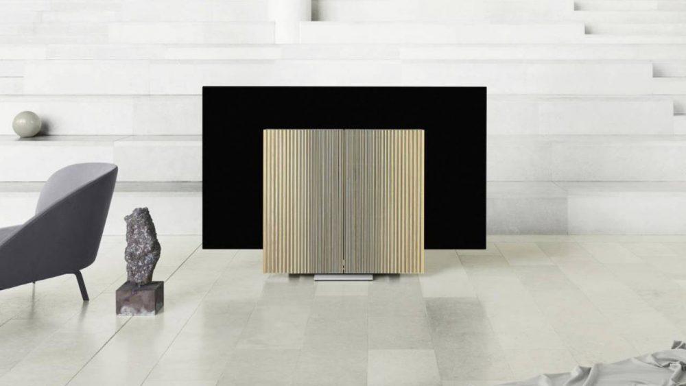 Bang & Olufsen debuts Beovision Harmony at Milan Design Week