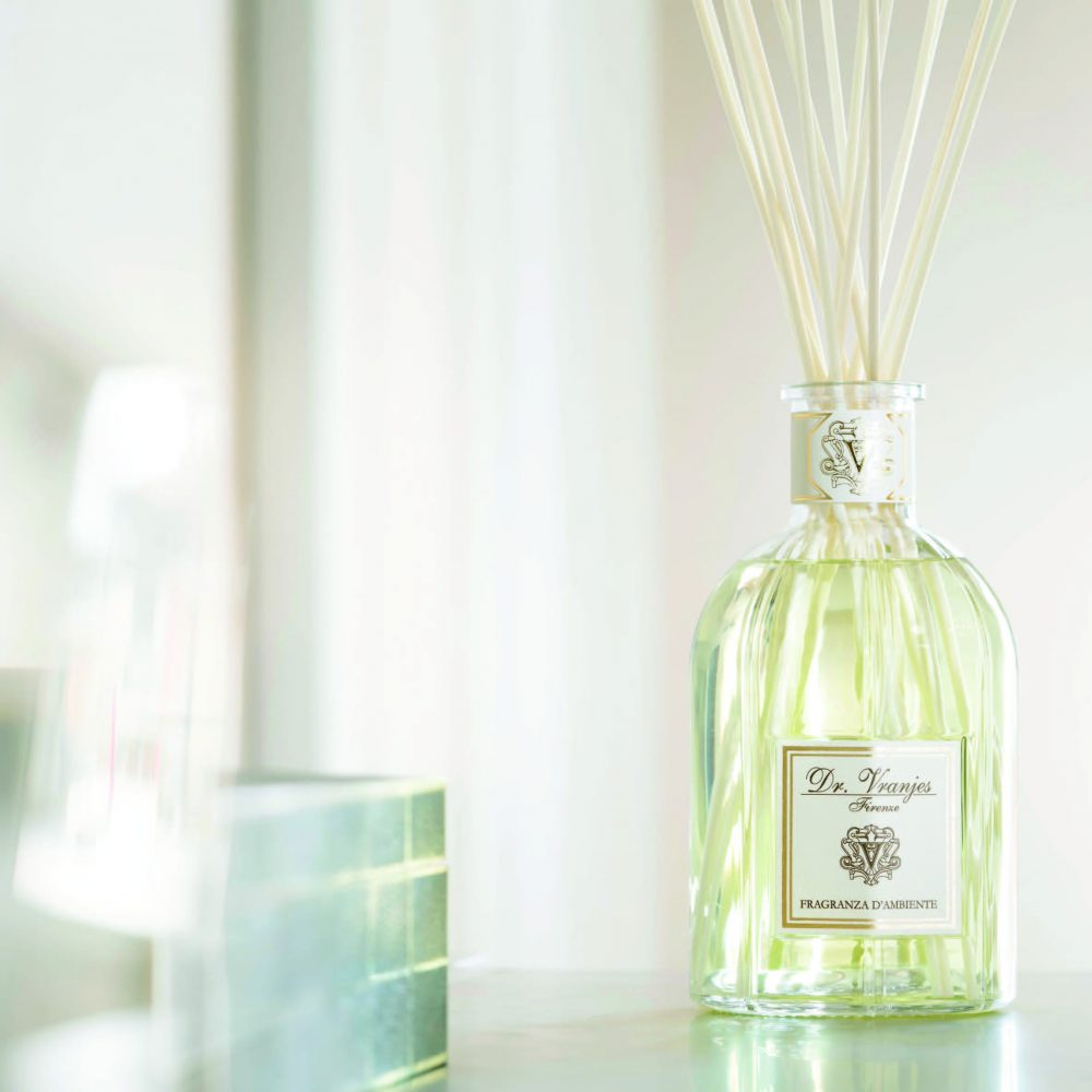 Dr. Vranjes, elegant perfumed furnishing accessories hand-crafted in Florence