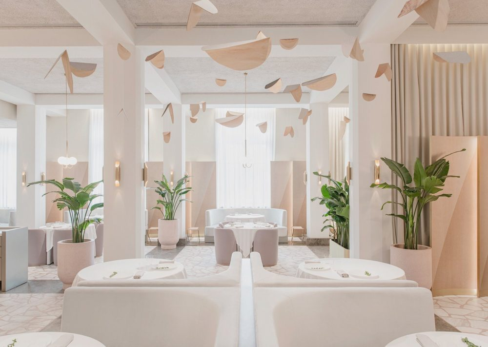 Odette, a fine dining experience for art lovers in Singapore