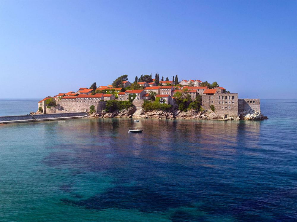 Aman Sveti Stefan, Montenegro, a secluded, tranquil 80-acre estate