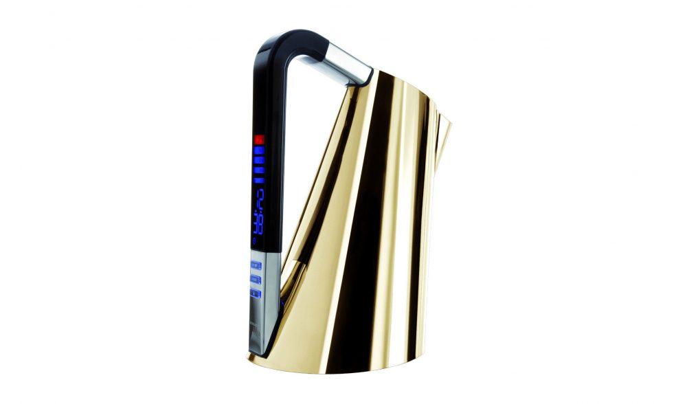 Vera Kettle 24-karat Gold by Casa Bugatti