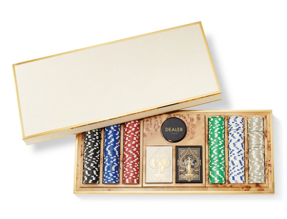 AERIN Shagreen 300-piece Poker Set