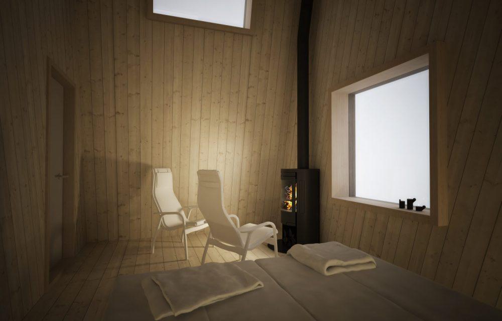 Arctic Bath Hotel & Cold Bath, Swedish Lapland, a floating monument