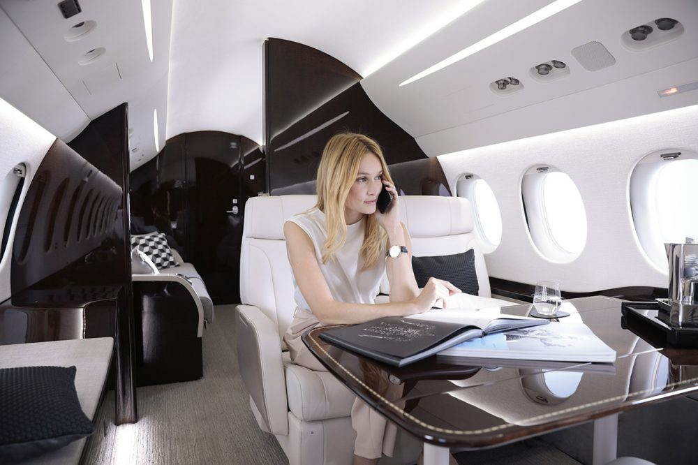 Dassault, Falcon 8X, The freedom to fly where you want, as you like