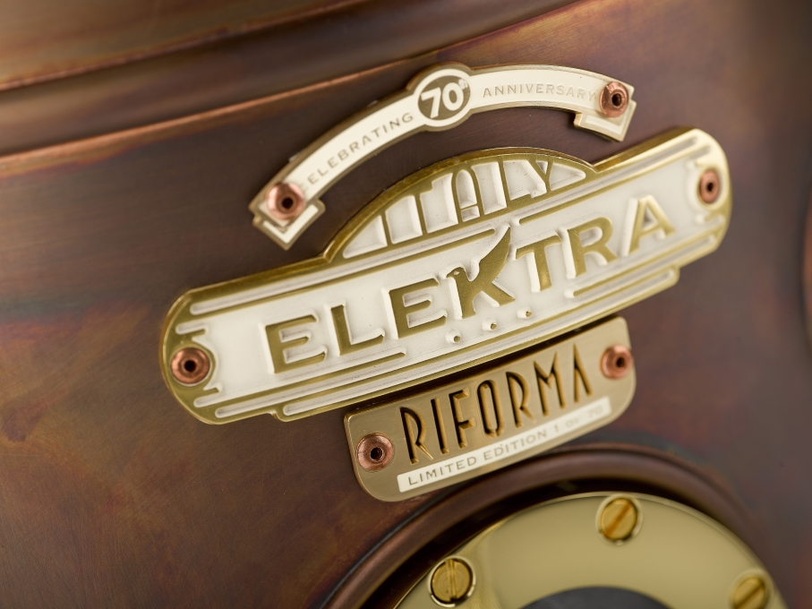 The Belle Epoque Riforma Limited Edition Coffee Machine by Elektra