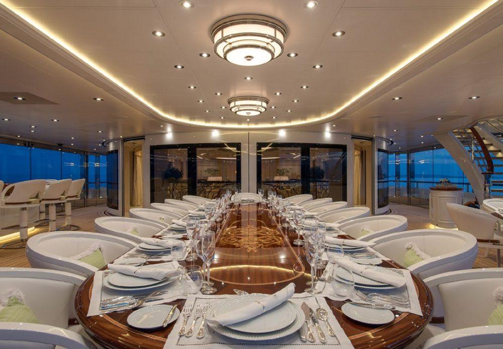 TIS Megayacht by Lürssen Yachts and Winch Design