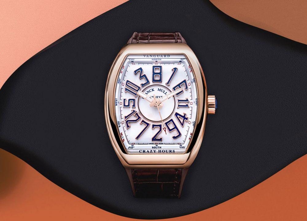 Franck Muller's Vanguard Crazy Hours, Limited Edition