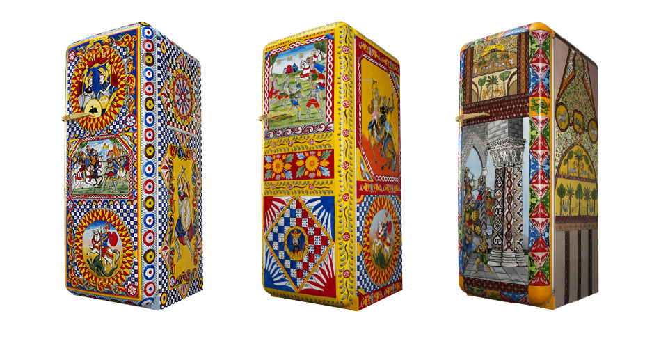 Refrigerator of Art from Dolce & Gabbana and Smeg