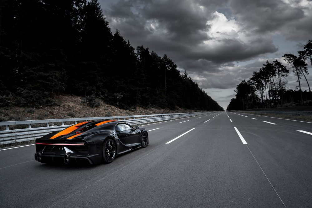 Bugatti Chiron Super Sport 300+, a limited edition of 30 units