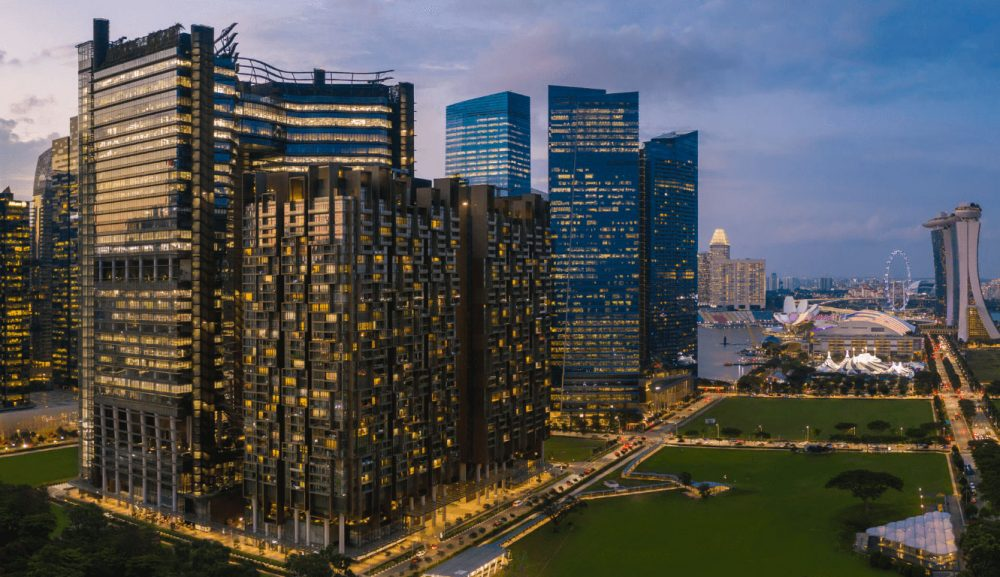 Marina One Residences, luxury living right at the heart of Singapore