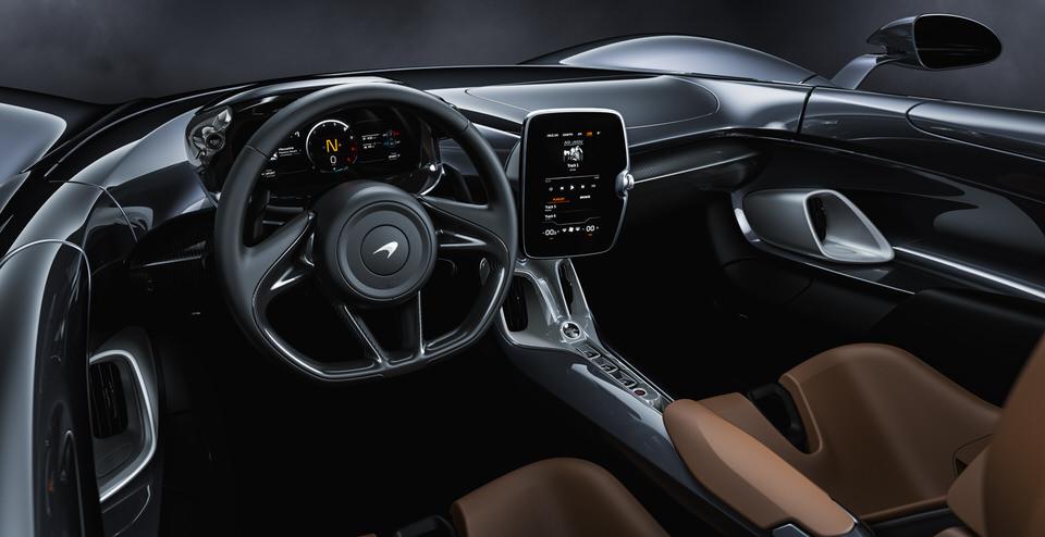 McLaren Elva, the new roadster celebrates McLaren's innovative spirit