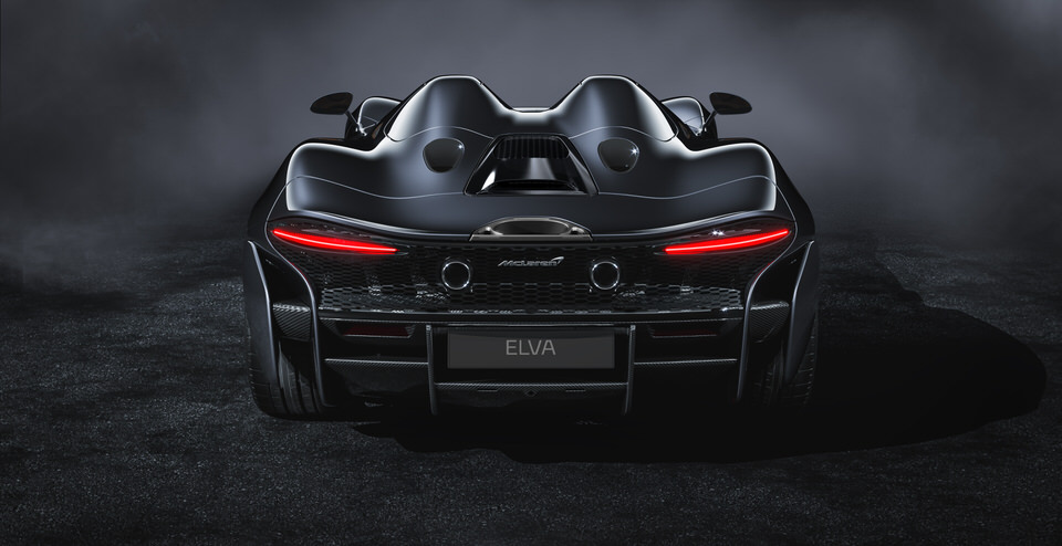 McLaren Elva, the new roadster celebrates McLaren's innovative spirit