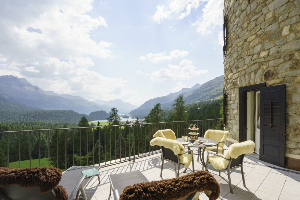 Suvretta House St. Moritz, a grand hotel steeped in history