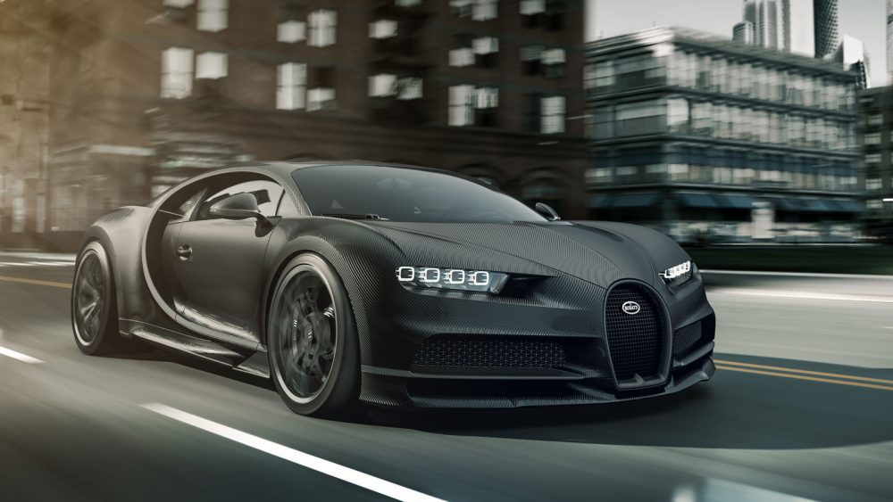 """Bugatti Edition """"Chiron Noire"""" inspired by the most beautiful car in the world"""