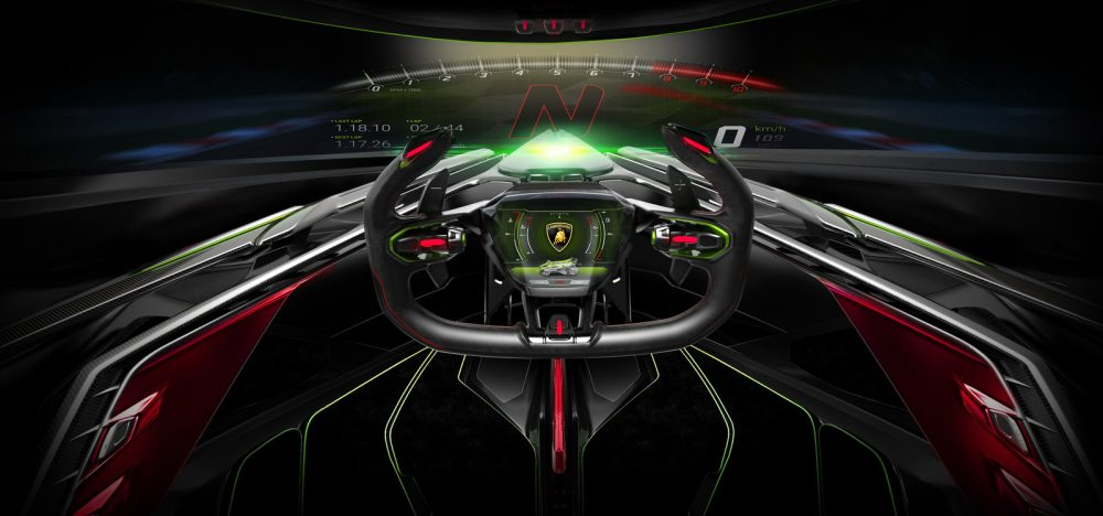 Lamborghini Lambo V12 Vision Gran Turismo unveiled in Monte-Carlo