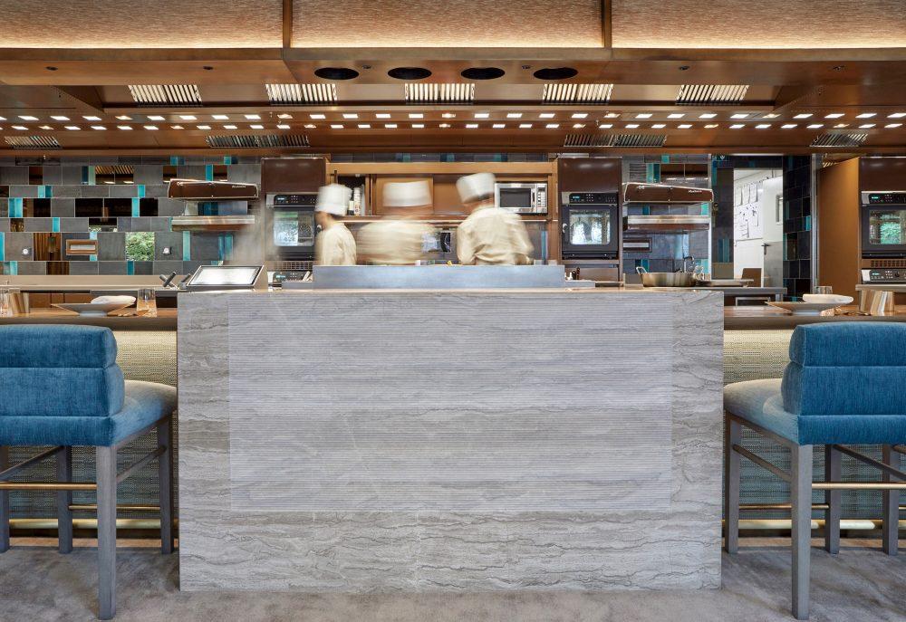 Pavyllon, Yannick Alléno's new restaurant at Pavillon Ledoyen