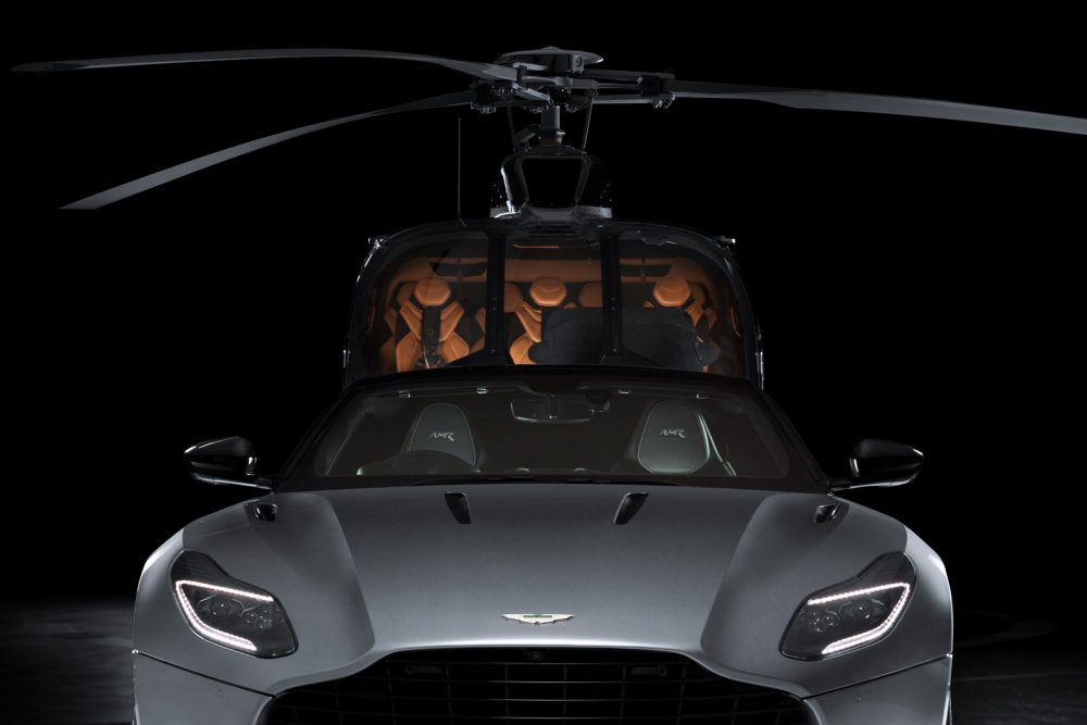 Airbus collaborates with Aston Martin to roll out the ACH130 Aston Martin edition