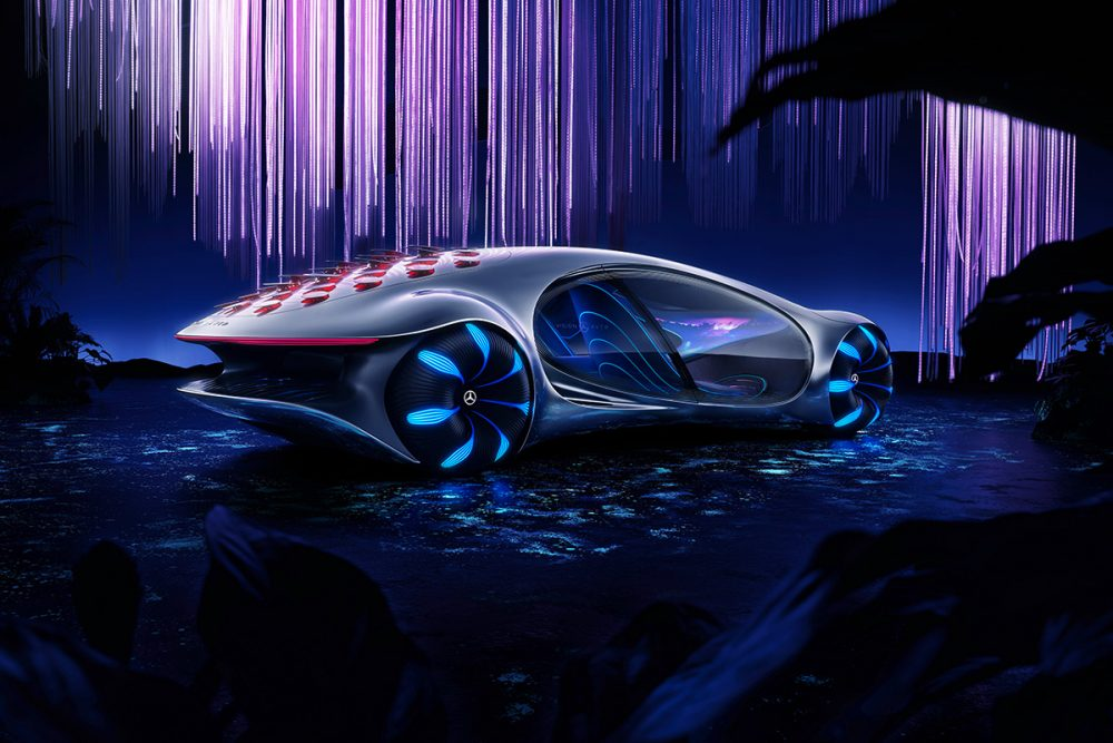 Mercedes-Benz VISION AVTR – a concept car inspired by AVATAR