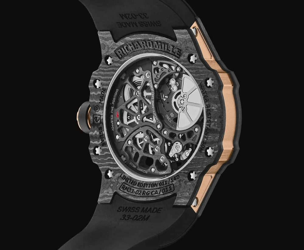 Carbon notes with Richard Mille's RM 33-02 Automatic