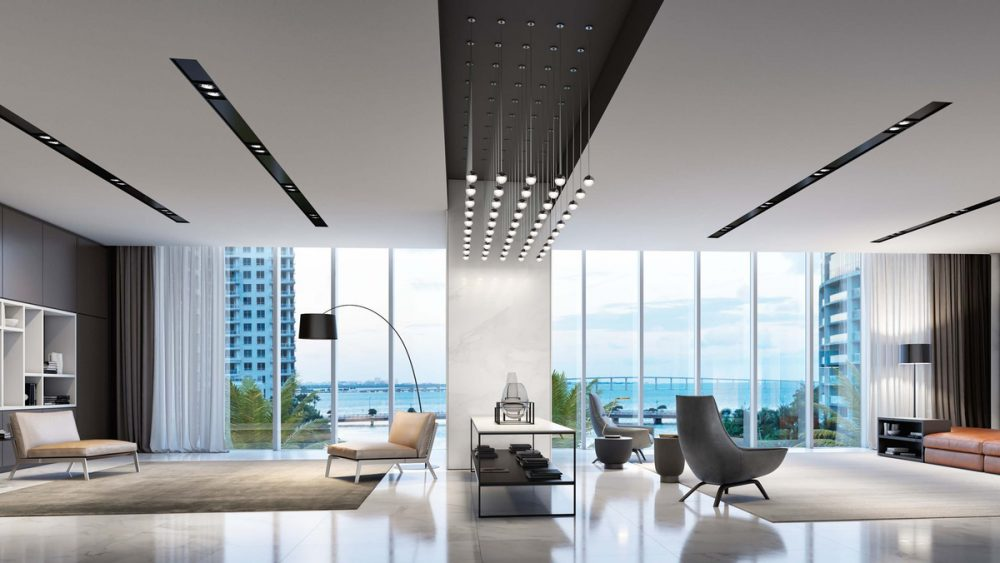 One of Miami's most sought-after addresses, Aston Martin Residences at 300 Biscayne Boulevard Way