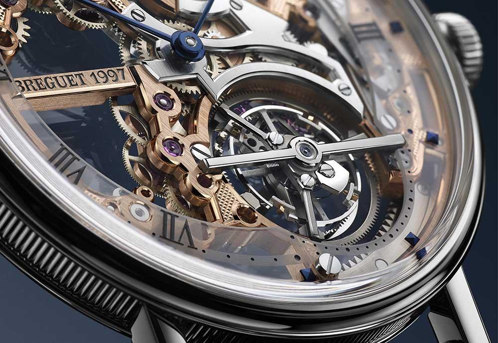 The Classique Tourbillon Extra-Plat Squelette 5395 by Breguet