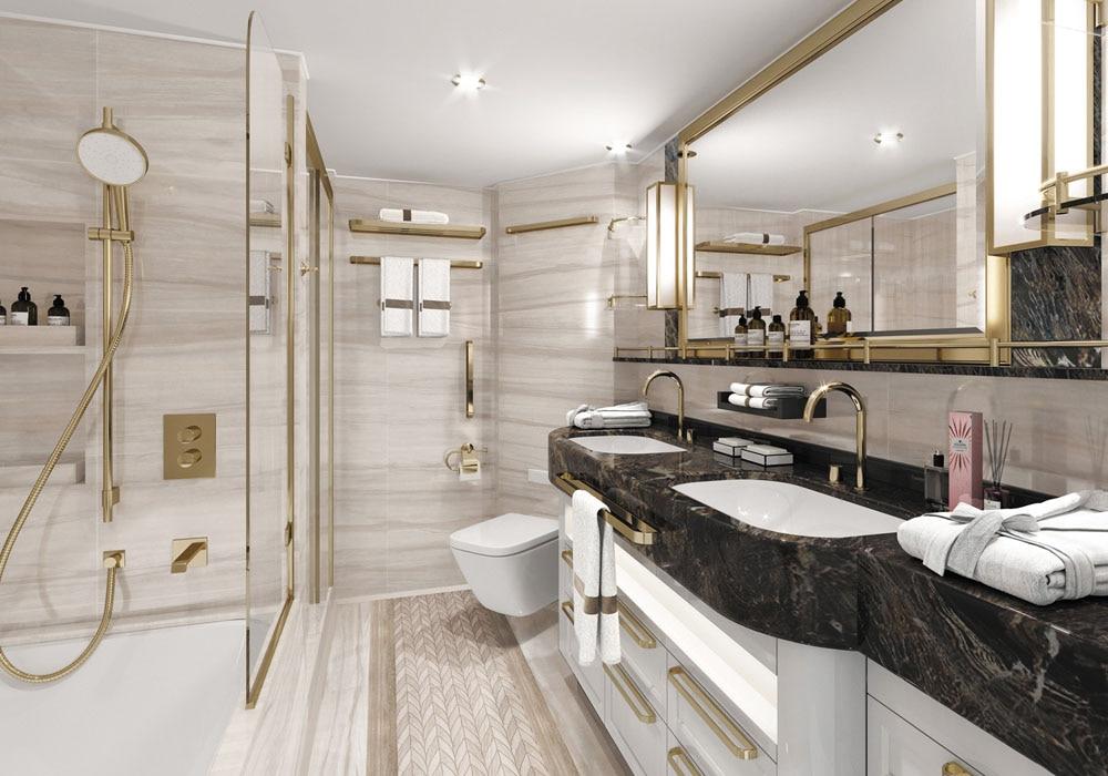 Seven Seas Splendor, the newest luxury cruise ship by Regent Seven Seas Cruises