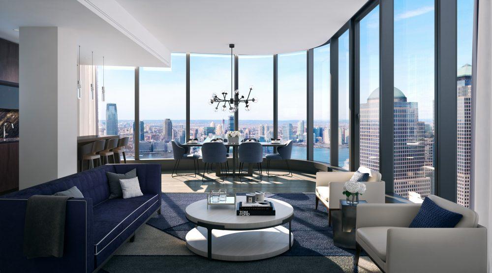 125 Greenwich Street, Manhattan, New York—live in a masterpiece