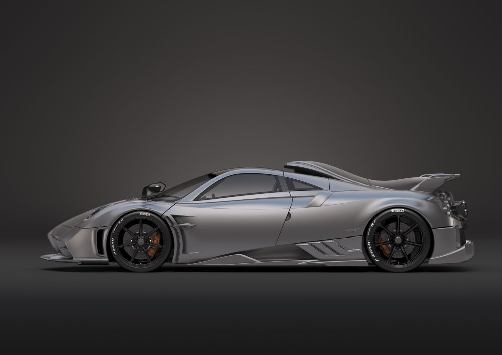 Pagani Imola, a powerhouse of technology for the racetrack and road
