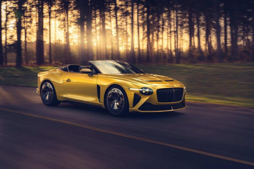 Bentley Mulliner Bacalar, the most exclusive and bespoke Bentley of the modern era